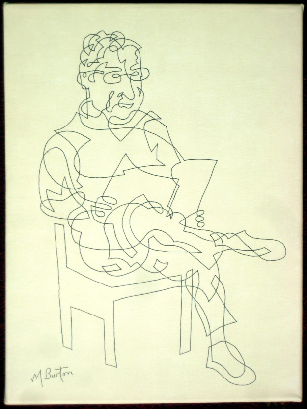 Stainbeck Artist, Continuous  Line Drawing.