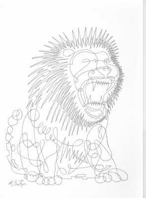 015. 1967-8. Lion, or Mayer. Cont line.
