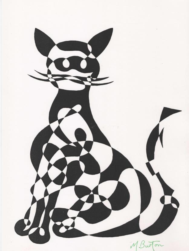 010. 1966-9. Cat, or Ragamuffin. Alternate shade, black.