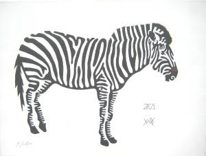 Zeus, Zebra at Yorkshire Wildlife Park
