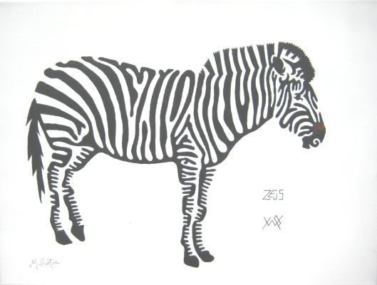 Zeus, Zebra at Yorkshire Wildlife Park