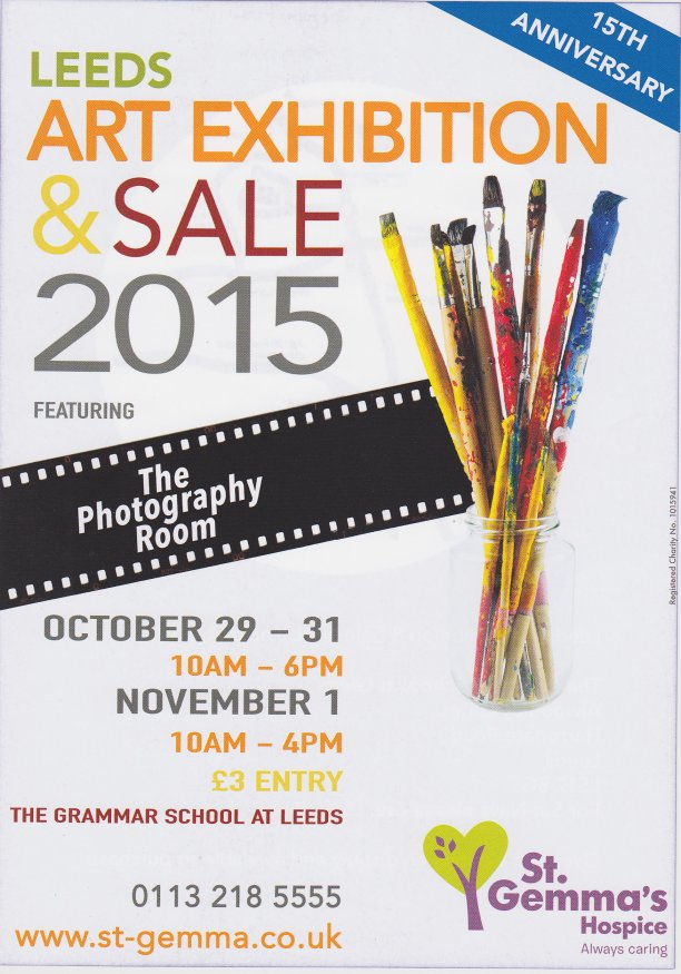St Gemma's Leeds Art Exhibition. 29 - 31 October 2015