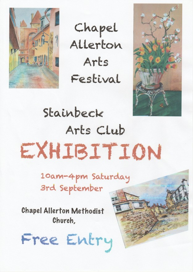Stainbeck Arts Club Poster