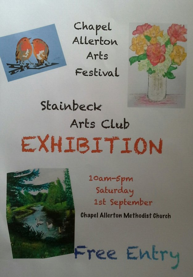 Stainbeck Art Club poster. 20180806_113931(1)